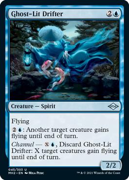Ghost-Lit Drifter