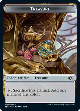 Modern Horizons 2 Treasure 2 token
