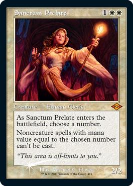 Sanctum Prelate BAB