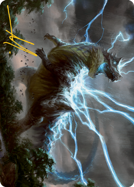 Thrasta, Tempest's Roar Art Card 41/81