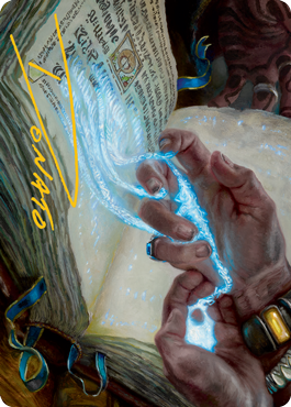 Mystic Redaction Art Card 16/81