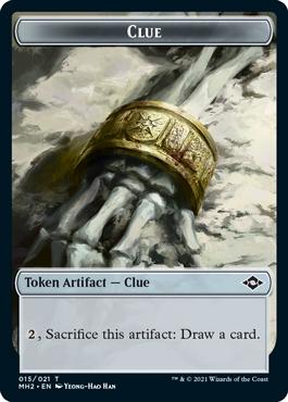 Modern Horizons 2 Clue 2 token