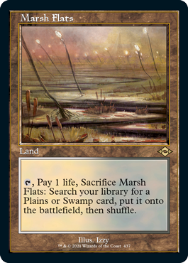 Retro frame Marsh Flats