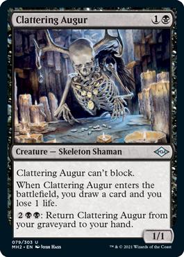 Clattering Augur