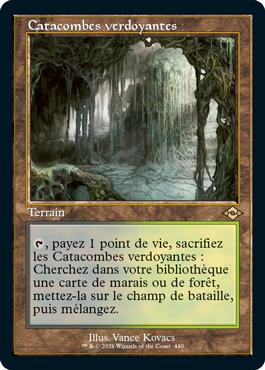 Catacombes verdoyantes