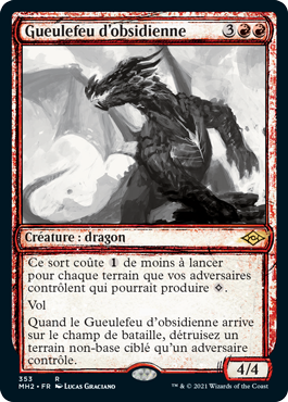 Gueulefeu d'obsidienne