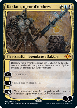 Dakkon, tueur d'ombres