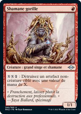 Shamane gorille