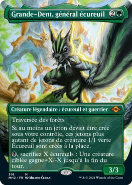Grande-Dent, général écureuil