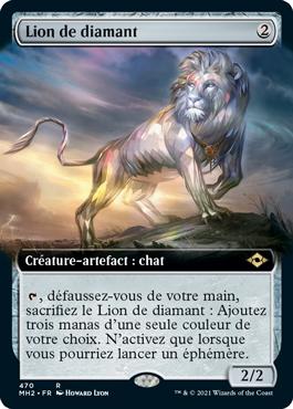 Lion de diamant
