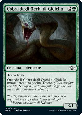 Cobra dagli Occhi di Gioiello