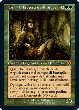 Titania, Protettrice di Argoth