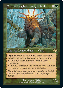 Ayula, Regina tra gli Orsi