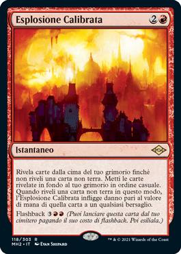 Esplosione Calibrata
