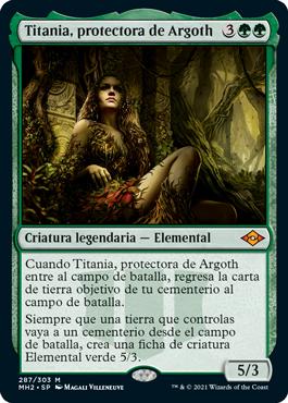 Titania, protectora de Argoth