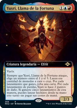 Yusri, Llama de la Fortuna
