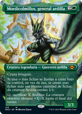 Mordicolmillos, general ardilla