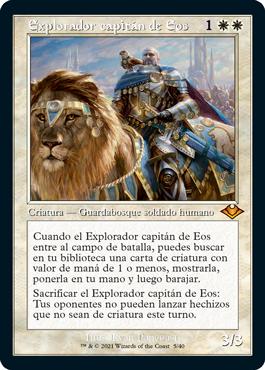 Explorador capitán de Eos