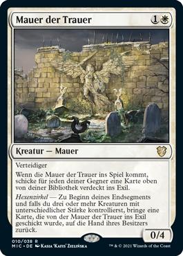 Mauer der Trauer