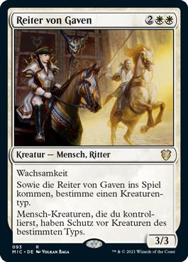 Reiter von Gaven