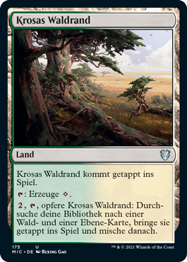 Krosas Waldrand