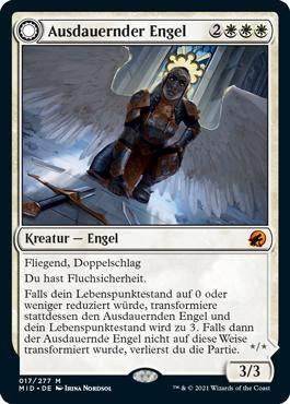 Ausdauernder Engel