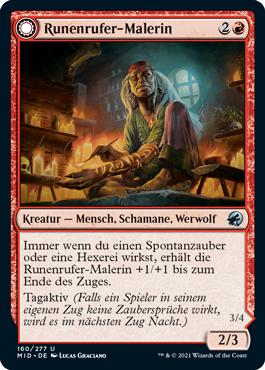 Runenrufer-Malerin