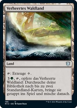 Verheertes Waldland