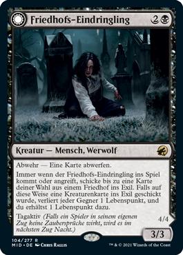 Friedhofs-Eindringling