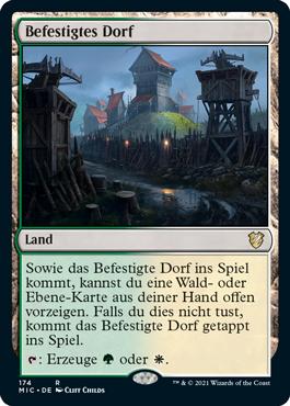 Befestigtes Dorf