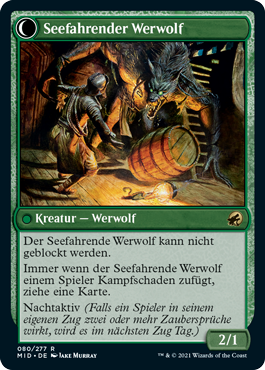 Seefahrender Werwolf