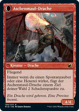 Aschenmaul-Drache