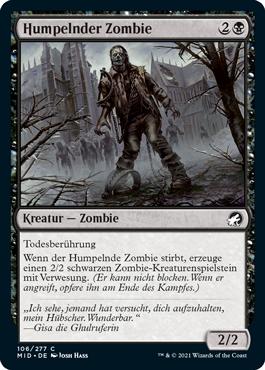 Humpelnder Zombie