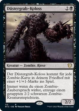 Düstergrab-Koloss