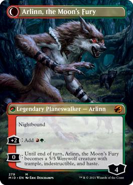 Borderless Arlinn, the Moon's Fury