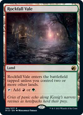 Rockfall Vale