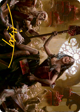 Gisa, Glorious Resurrector Art Card 35/81