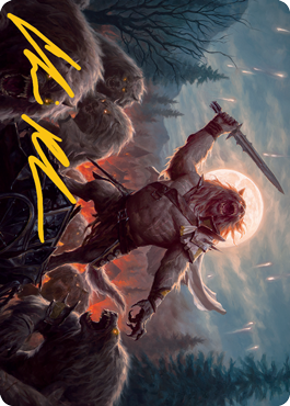 Tovolar, the Midnight Scourge 1 Art Card 6/81