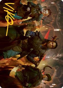 Candlelit Cavalry Art Card 48/81