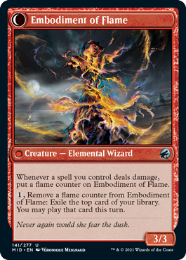 Embodiment of Flame