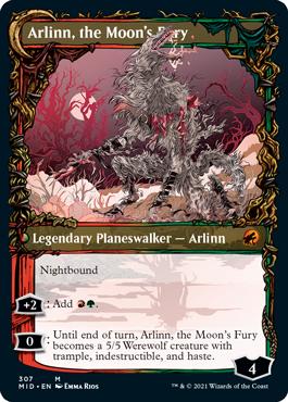 Showcase Arlinn, the Moon's Fury