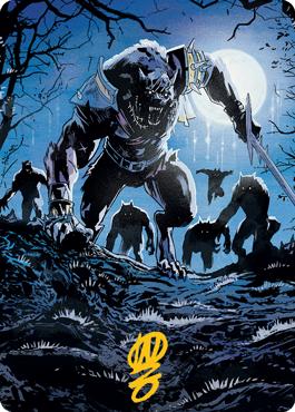 Tovolar, the Midnight Scourge 2 Art Card 8/81