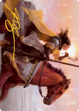 Sunrise Cavalier Art Card 69/81