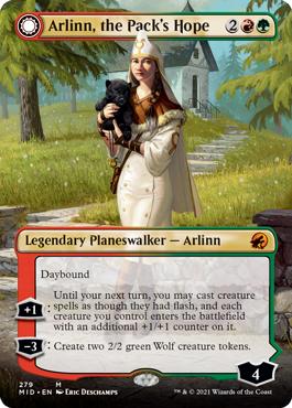 Borderless Arlinn, the Pack's Hope