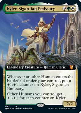Kyler, Sigardian Emissary