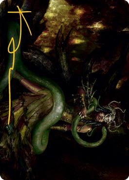 Saryth, the Viper's Fang Art Card 53/81