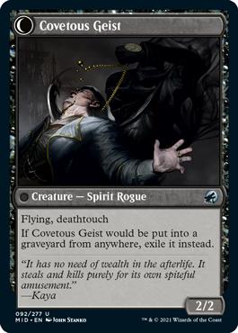 Covetous Geist