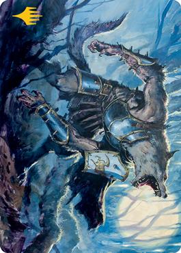 Moonrage Brute Art Card 14/81