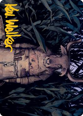 Fleshtaker Art Card 61/81