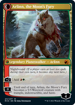 Arlinn, the Moon's Fury